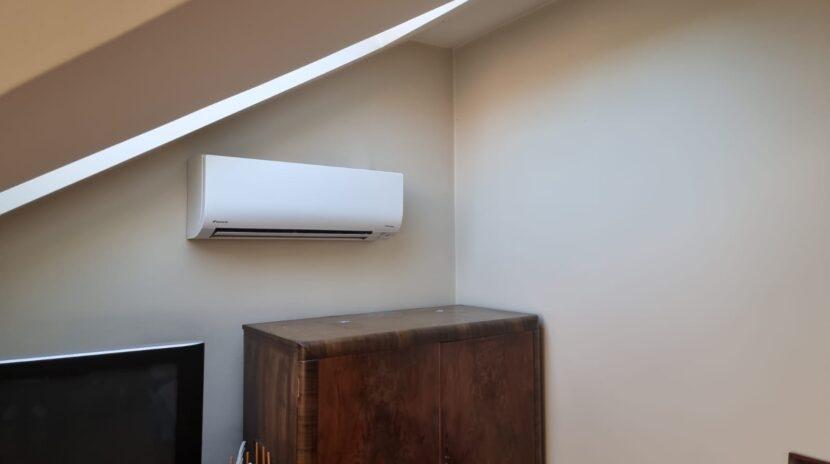 Daikin wall mounted split system installation