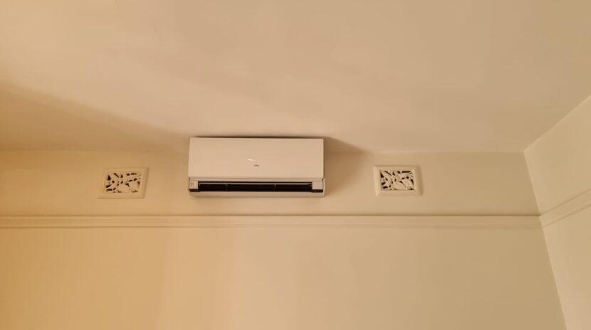 Fujitsu designer split system indoor unit at Birchgrove